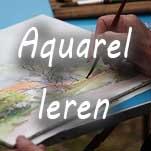 Aquarelleren @ Wijkcentrum Bilgaard | Leeuwarden | Friesland | Nederland