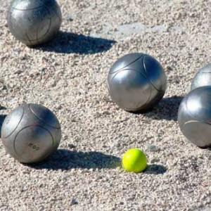 Jeu de boules @ Wijkcentrum Bilgaard | Leeuwarden | Friesland | Nederland